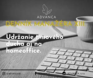 ADVANCA - Denník manažéra